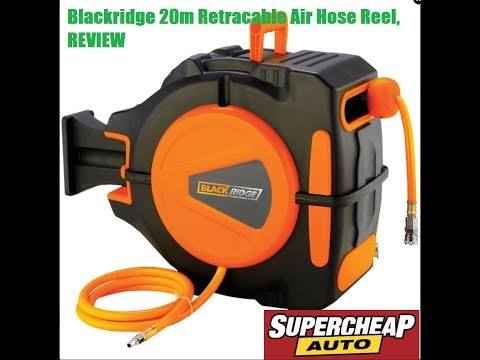 Blackridge Air Hose Reel Unboxing and Review