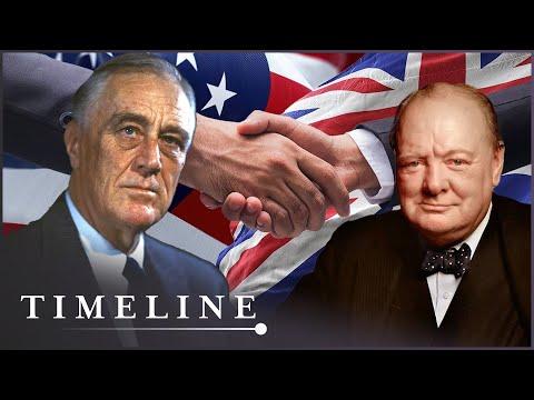 Warlords: Churchill vs Roosevelt (WW2 Leaders Documentary) | Timeline