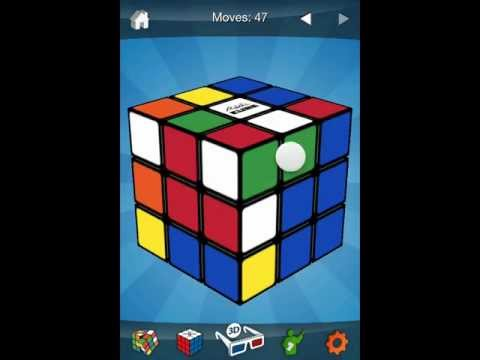 Watch Rubik's cube solved 3x3x3