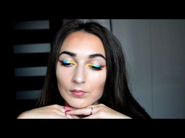 Макияж цветные стрелки/пигменты Pure colors/хайлайтер- призматик essence /белорусская косметика