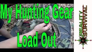My Hunting Gear Load Out - Bow Hunting Gear Checklist