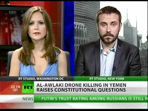 Jeremy Scahill - What crime was Anwar Al- Awlaki accused of?