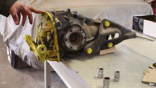 How to refurbish BMW Limited Slip Differential (LSD)