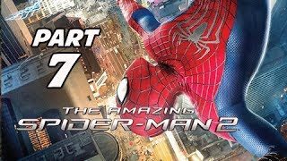 The Amazing Spider-Man 2 Walkthrough Part 7 - Into the Lion's Den (PS4 1080p Gameplay)