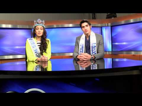Miss World Video Diary - Breaking News From Abc 5 News - With Miss World & Mr World video