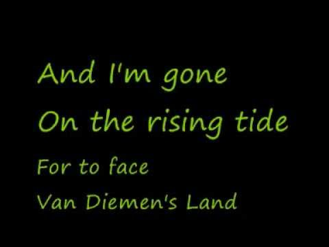 U2-Van Diemen's Land (Lyrics)