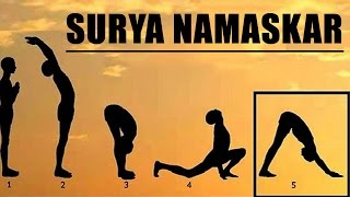 Learn  Step by Step Surya Namaskar
