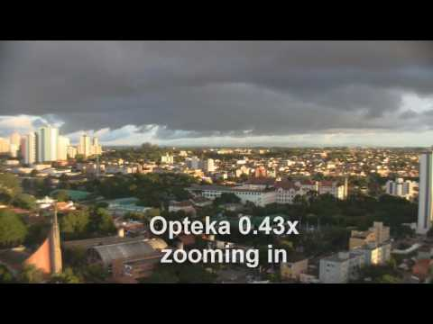 Wide angle lens test: Sony VCL-HA07A vs. Opteka 0.43x Video