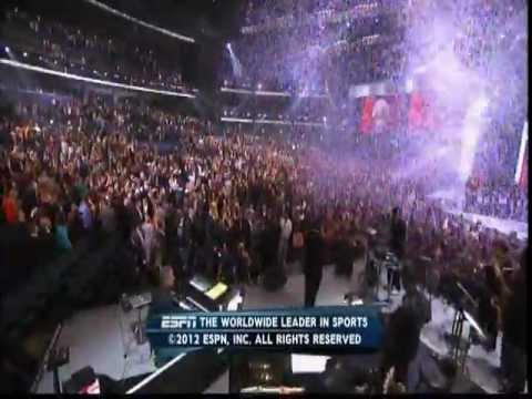 July 11, 2011 - ESPN - ESPY's (LeBron James-Best Male Athlete; Miami Heat - Best Team)
