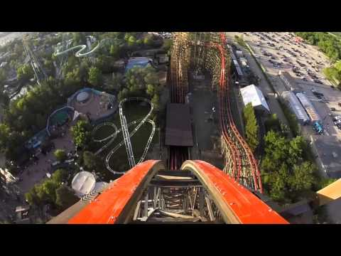 Official Goliath Roller Coaster - Six Flags Great America POV