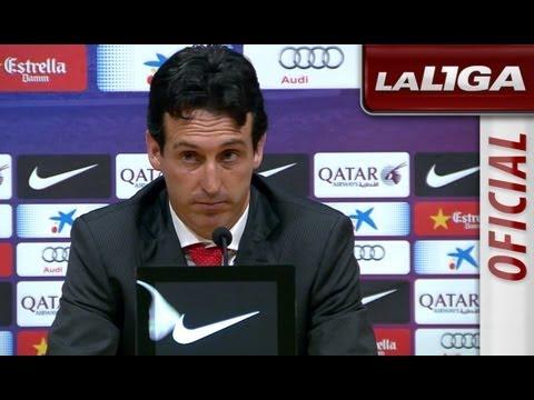 Rueda de Prensa de Unai Emery tras el FC Barcelona (3-2) Sevilla FC - HD