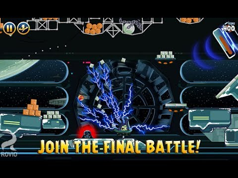 Angry Birds Star Wars: How to End [Death Star 2 Final Boss Fight] Level 30 Gameplay/Walkthrough
