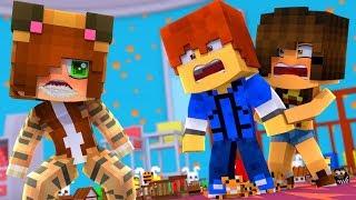 Minecraft Daycare - TINA GOES CRAZY !? (Minecraft Roleplay)