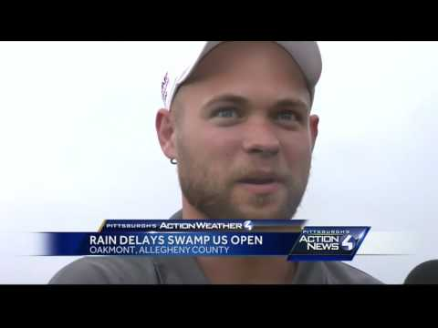 Storms soften Oakmont and stop the US Open