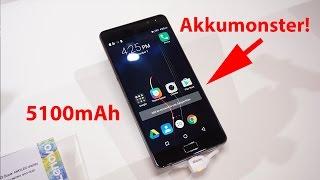 Lenovo P2: Smartphone mit 5100mAh Akku - genug für EINE WOCHE? | deutsch
