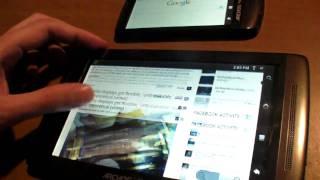 Thumb Android 2.2 Froyo en tableta Archos Gen8 (con Flash)