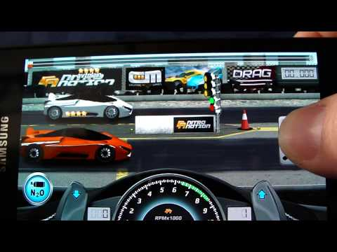 Drag Racing NEW (v1.6) android app level 10 SSC Tuatara - setting and upgrade
