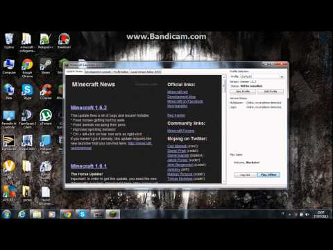 Download launcher minecraft 1.6.1/1.6.2 (sp)(free)(cracked)