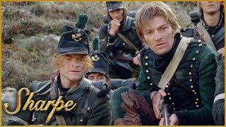 The French Cavalry Ambush The British | Sharpe