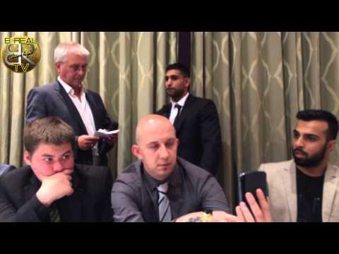 Amir Khan Evening (iv) : Danny Garcia, Breidis Prescott & More... video