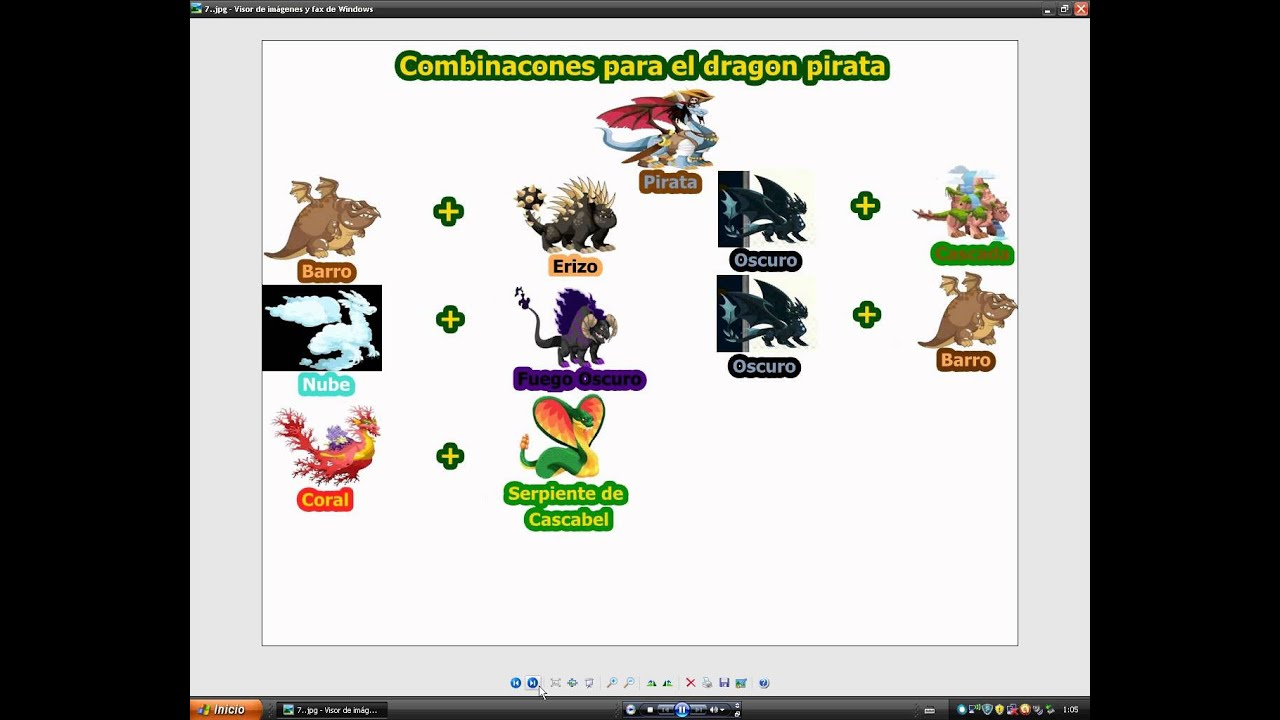 Combinaciones Dragon City:Chicle,Futbolista,Fuego Fresquito,Armadillo