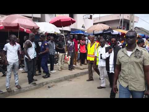 Video: Accra mayor's funny countdown to traders to collect rubbish