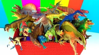 DINOSAUR Box TOY COLLECTION What's in the Box: Dinosaurs and Reptiles - Fun and Educational