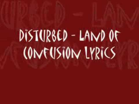 Disturbed-Land of Confusion with lyrics - YouTube