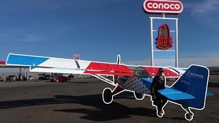 LANDING AIRPLANES AT ARBY'S FOR LUNCH! | VLOG0136