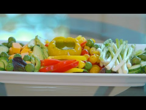 How To Make A Veggie And Dip Appetizer