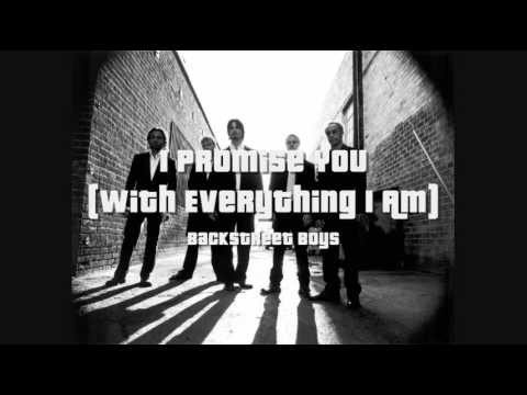 Backstreet Boys - I Promise You (With Everything I Am) HQ