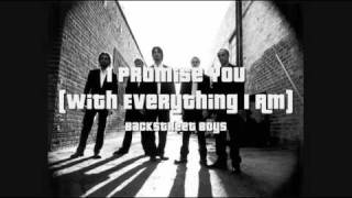 Watch Backstreet Boys I Promise You (With Everything I Am) video