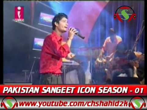 Asif Ali Babar Haal E Dil Pakistan Sangeet Icon 1 Episode 8 video