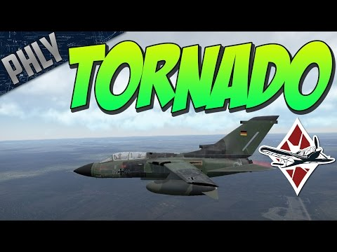 PANAVIA TORNADO & REVERSE THRUST! (War Thunder Jet Gameplay)