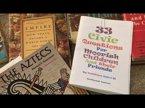 Sabir Bey- 33 civic questions for Moorish children and adults that is not taught in schools.