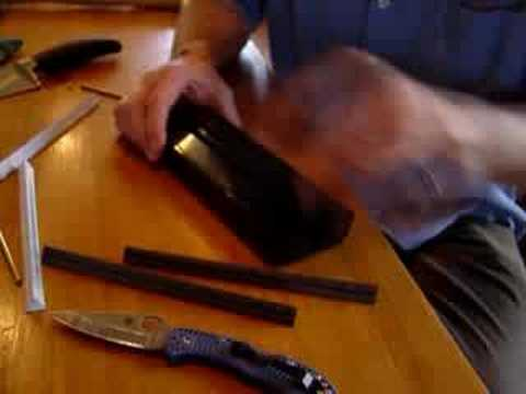 Sharpening with the Spyderco Sharpmaker without Blunting the Knife