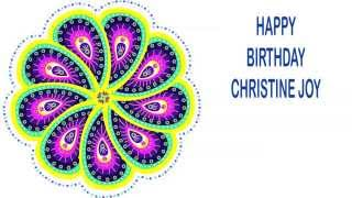 Christine Joy   Indian Designs - Happy Birthday