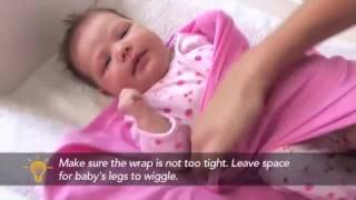 Baby sleep: how to wrap your baby