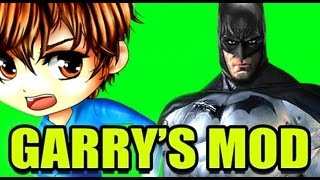 Gmod THE BATMAN Mod!