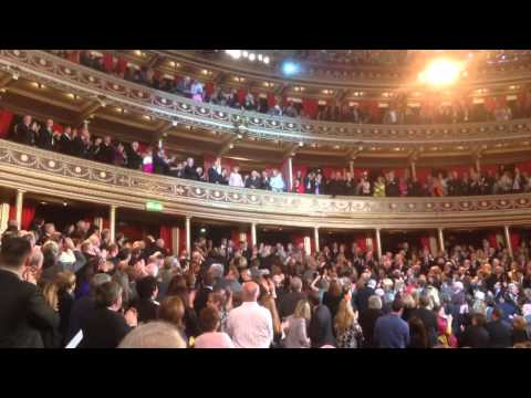 President Michael D Higgins in Royal Albert Hall