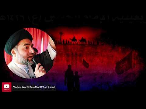 Visiting Imam Hussain a.s | Ziyarat | Maulana Syed Ali Raza Rizvi