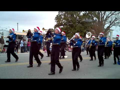 Parkwood High School 2011 Monroe Christmas Parade