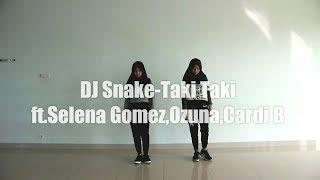 """DJ Snake ft. Selena Gomez, Ozuna, Cardi B """"Taki Taki"""" Mix Choreography Dance by G.DNC Crew"""