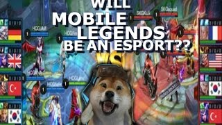 Mobile Legends will Be Esport ? - Giveaway