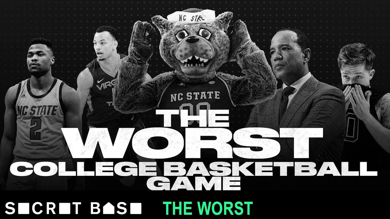 The worst college basketball game was so historically awful, a ranked team scored just 24 points