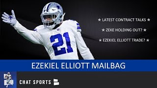 Ezekiel Elliott Latest: Trade Rumors, Contract Talks, Value & Possible Hold Out | Cowboys Mailbag