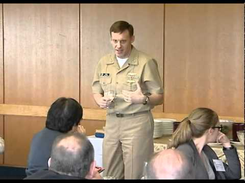 USNA  2012 McCain Conference: VADM Michael Rogers, Commander US Fleet Cyber Command