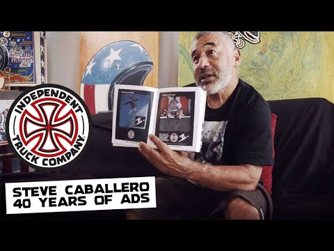 Steve Caballero - Since 1978 40 Years of Ads Book Interview