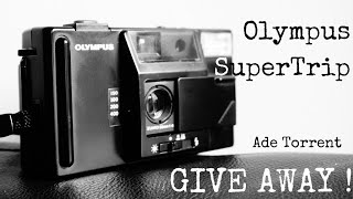 GIVEAWAY! - [CLOSED] The Olympus SuperTrip Vintage Film Point and Shoot