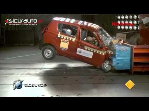 Crash test Global NCAP India - Suzuki-Maruti Alto 800